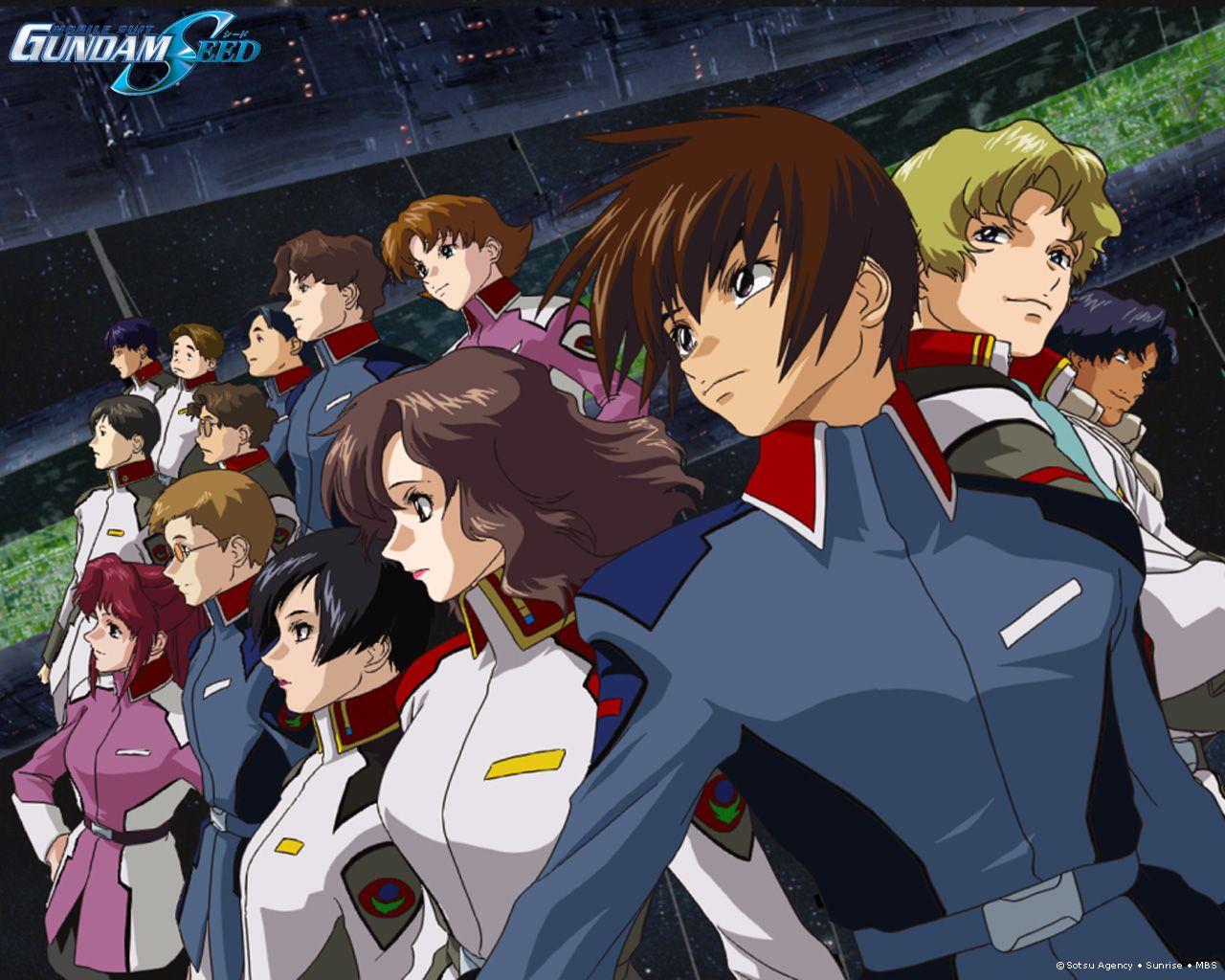 Анонс HD версии «Gundam Seed»
