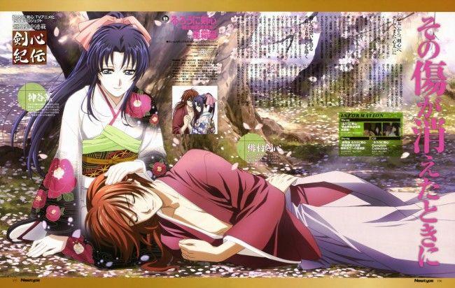Анонс Овашек «Rurouni Kenshin»