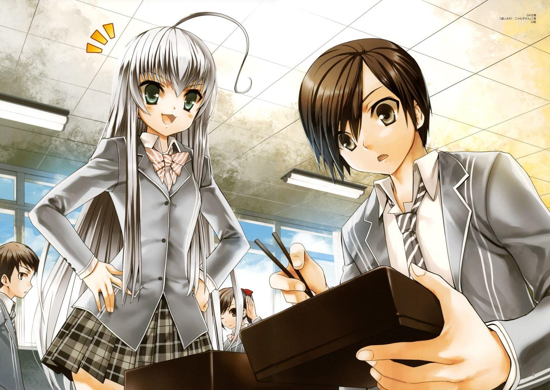 Анонс сериала «Haiyore! Nyaruko-san»