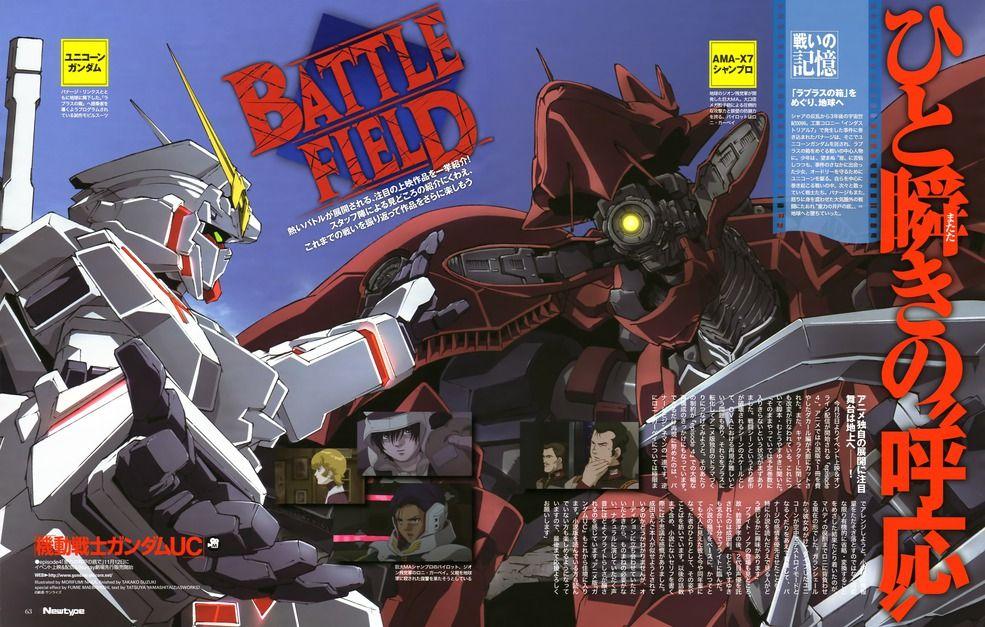 Анонс даты выхода «Gundam UC5»