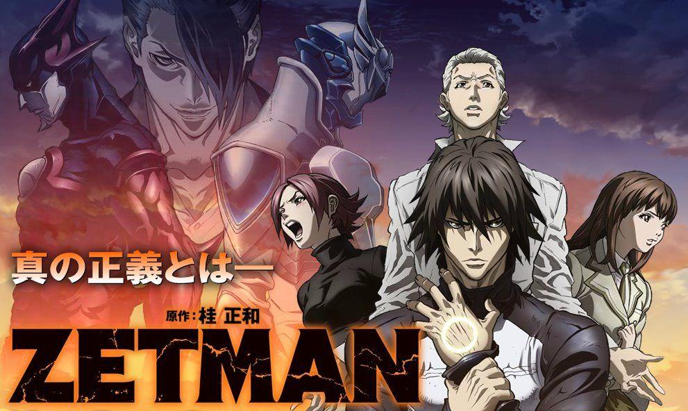 Трейлер сериала «Zetman. Dark Hero» (Обновлено)