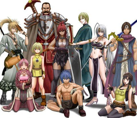 Анонс сериала «Aoi Sekai no Chūshin de Fantasy».