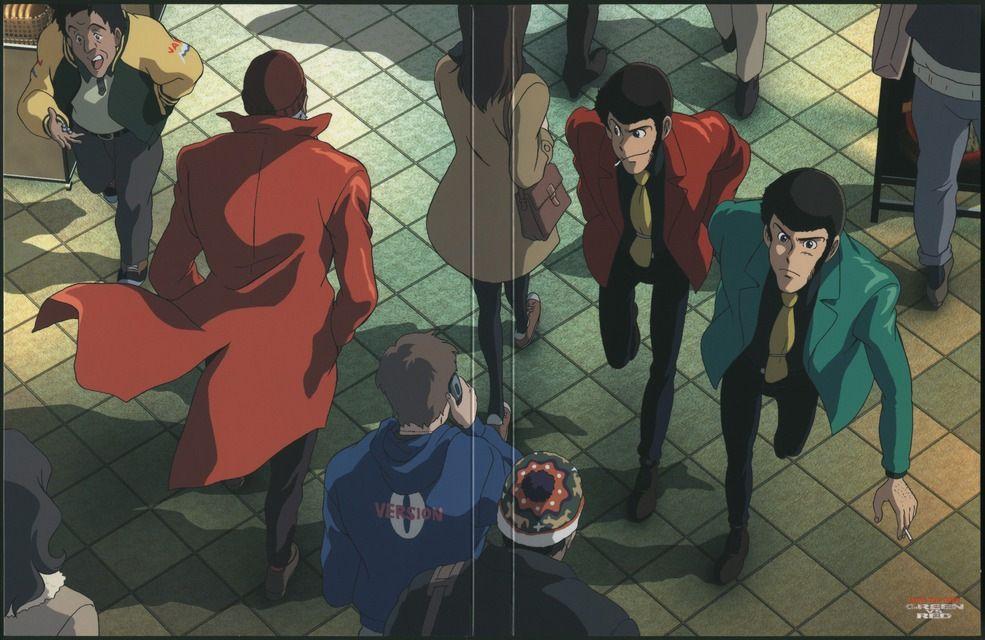 Трейлер нового сериала «Lupin III»
