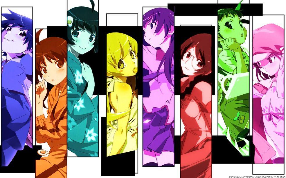 Официальный анонс экранизации оставшихся новелл «Monogatari».