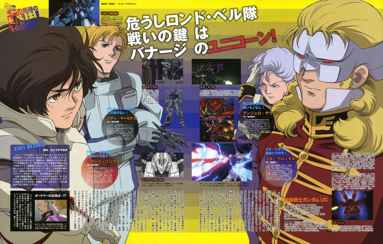 Анонс 7 эпизода «Gundam UC».