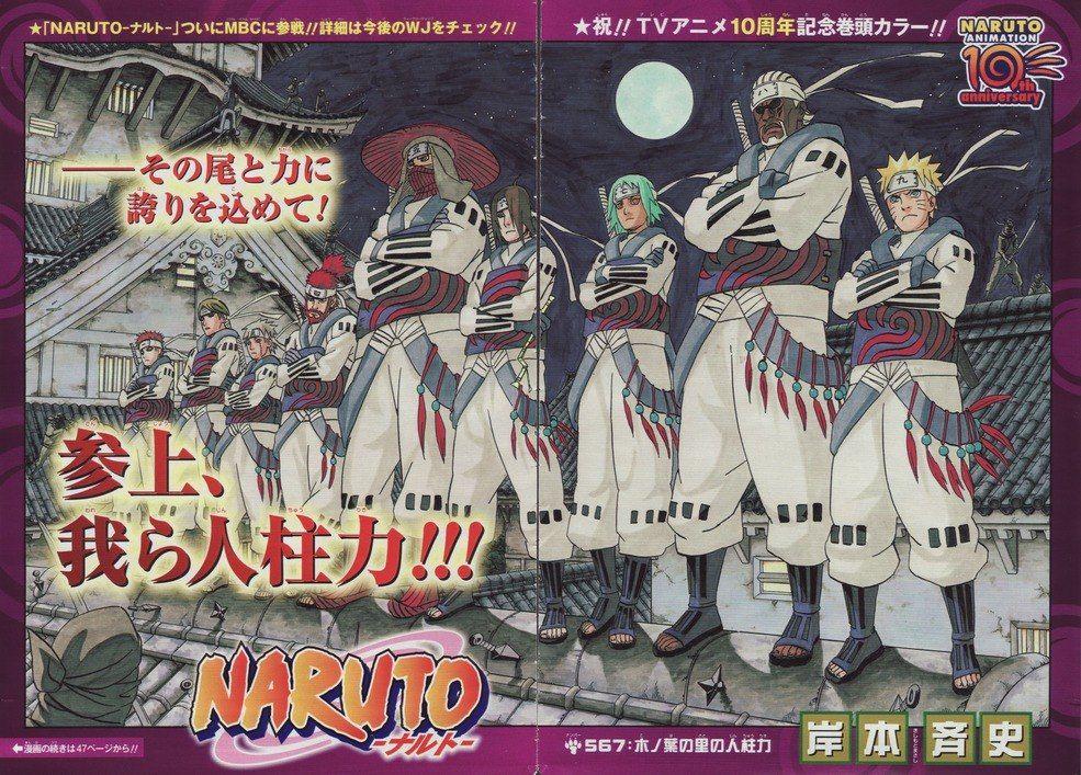 Манга «Naruto» — еще, как минимум 1,5 года.