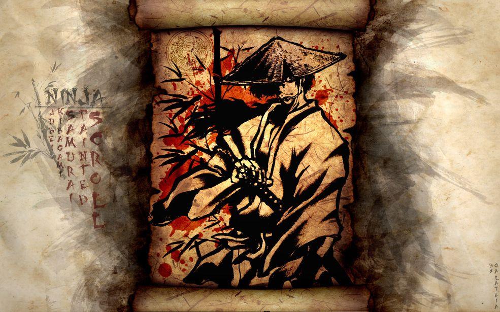 Рабочий тизер аниме «Ninja Scroll Burst».