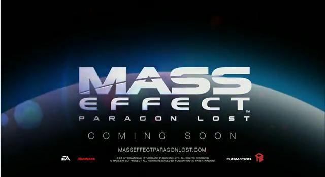 Трейлер фильма «Mass Effect: Paragon Lost».