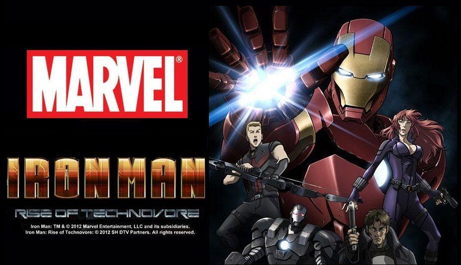 Новый трейлер  «Iron Man: Rise of Technovore».