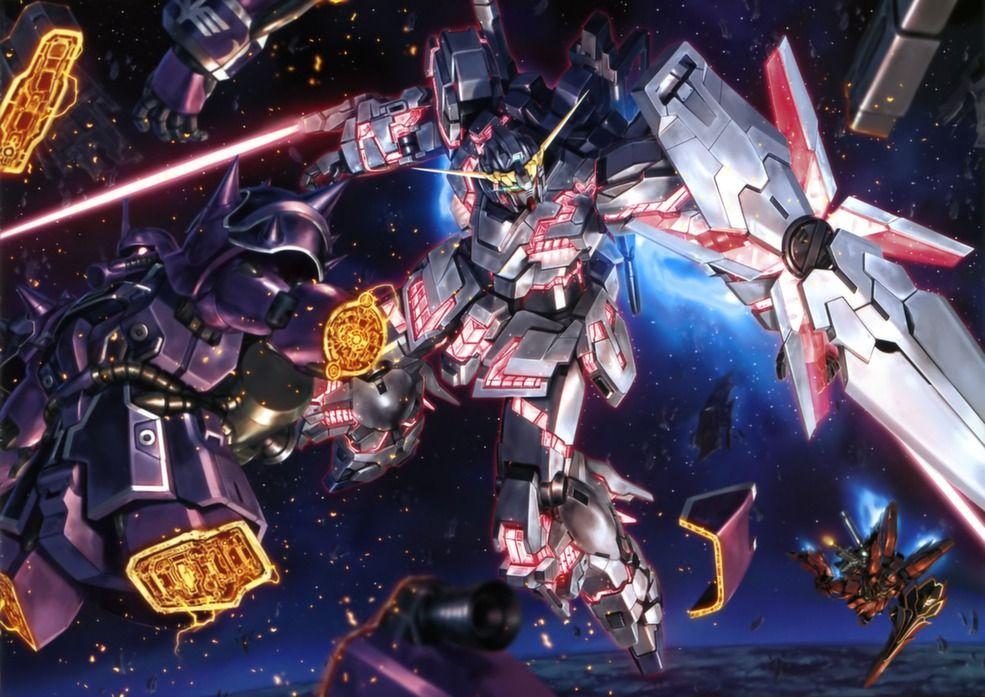 Анонс даты выхода «Gundam UC 6».