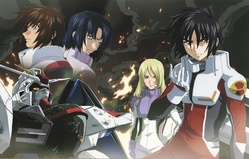 Анонс HD версии «Mobile Suit Gundam Seed Destiny».