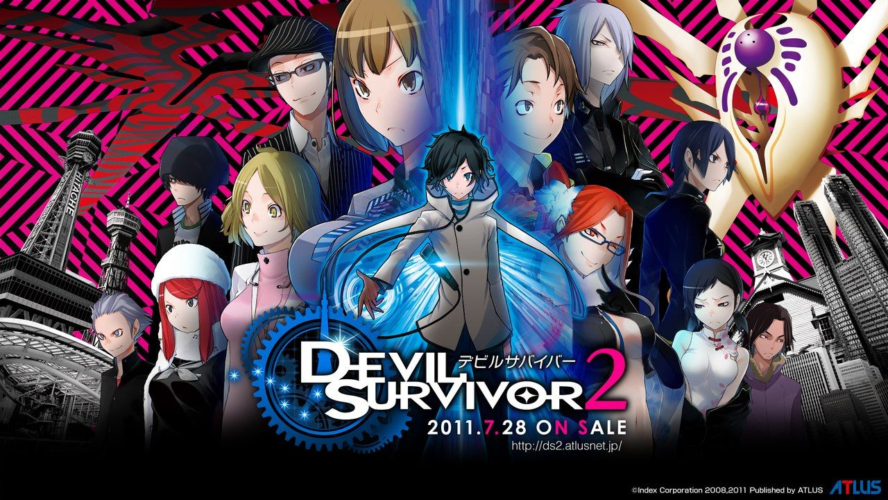 "Анонс сериала по мотивам игры ""Shin Megami Tensei: Devil Survivor 2″."