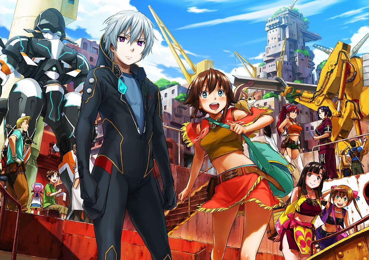 Промо сериала «Suisei no Galgantia».