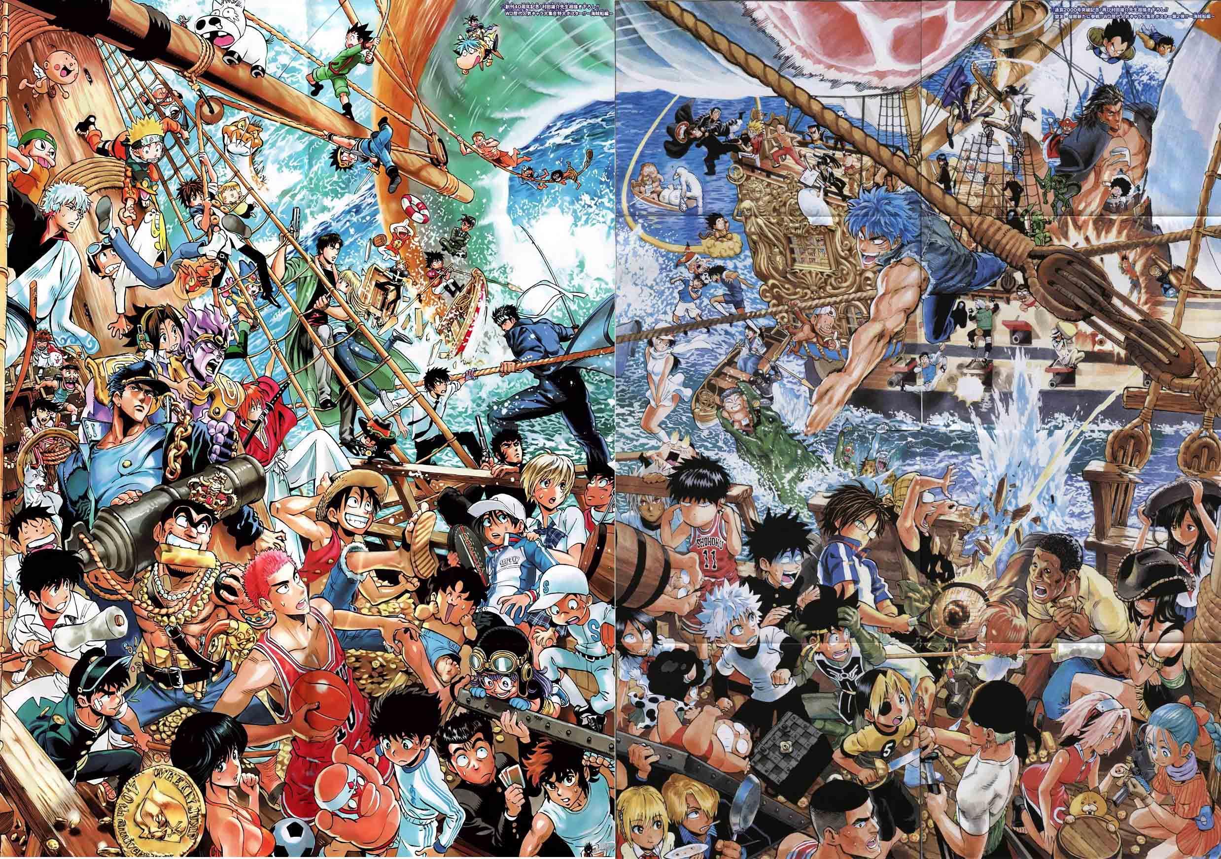 Топ 20 самой продаваемой манги в Японии за 2012.