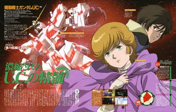 Промо «Gundam UC #6».