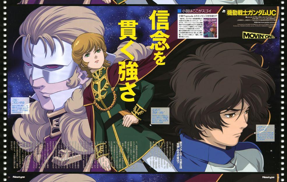 Трейлер 6 эпизода «Gundam UC»