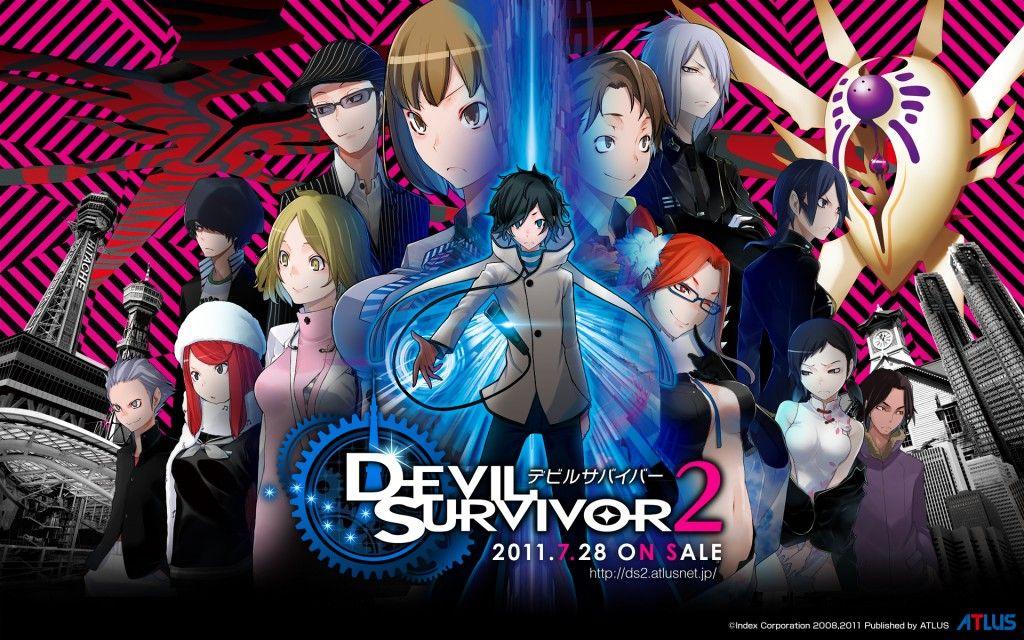 Подборка трейлеров «Devil Survivor 2 The Animation»