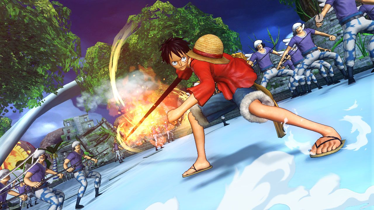 Трейлер игры «One Piece: Pirate Warriors 2»