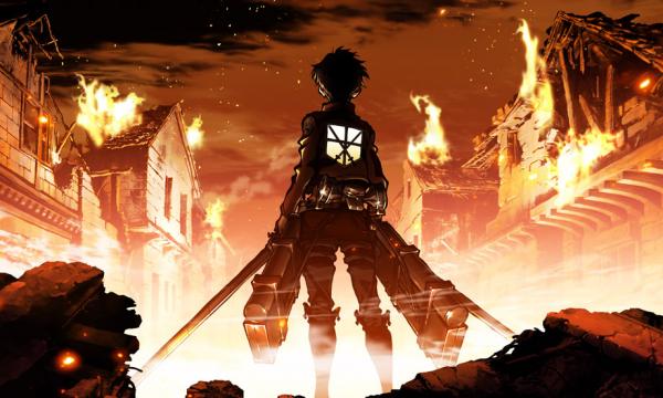 Новое промо «Attack on Titan».