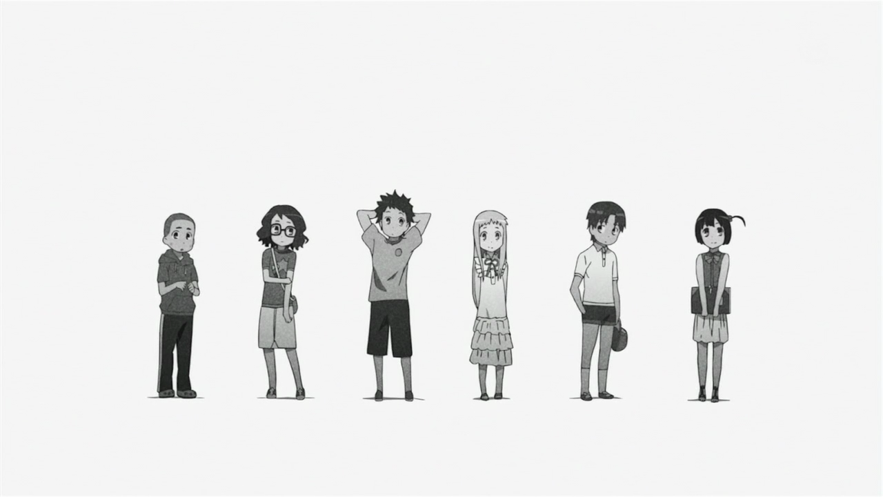Трейлер фильма «AnoHana: The Flower We Saw That Day»