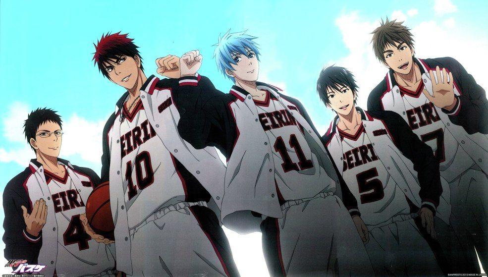 Анонс официальный даты 2 сезона «Kuroko no Basket».