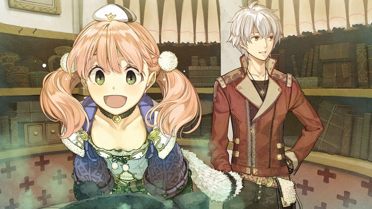Анонс сериала «Atelier Escha & Logy: Alchemists of the Dusk».
