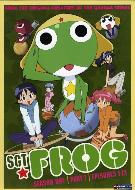 Sgt. frog s1 poster