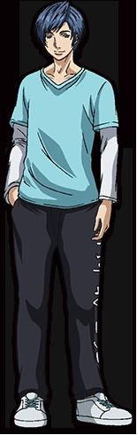 Kousuke Toriumi в роли Shiima