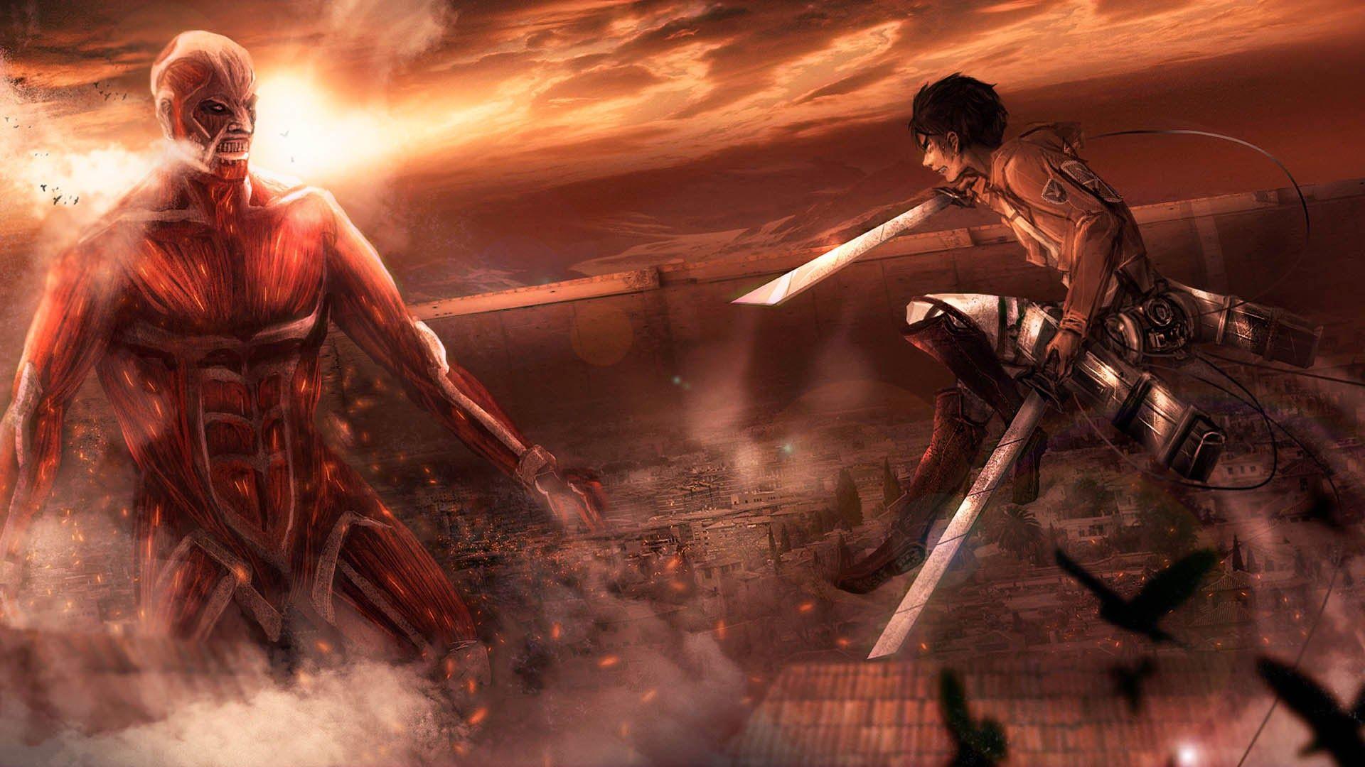 На постерах засветились герои фильмов Attack on Titan