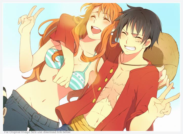 Nami-and-Luffy-doodllecake-31846065-724-530