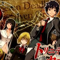Семь смертных грехов — рецензия на аниме «Trinity Seven»