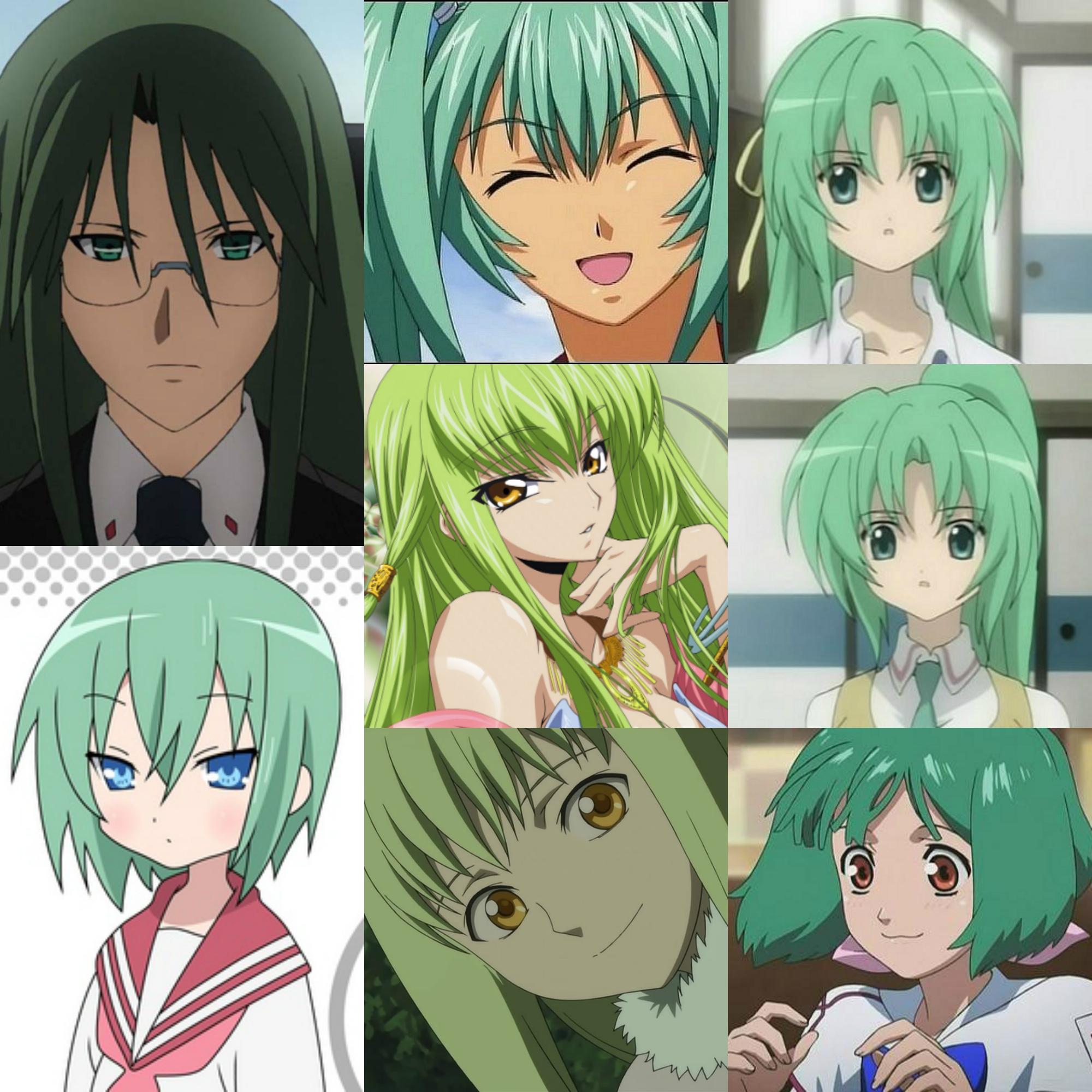 зелёные ж