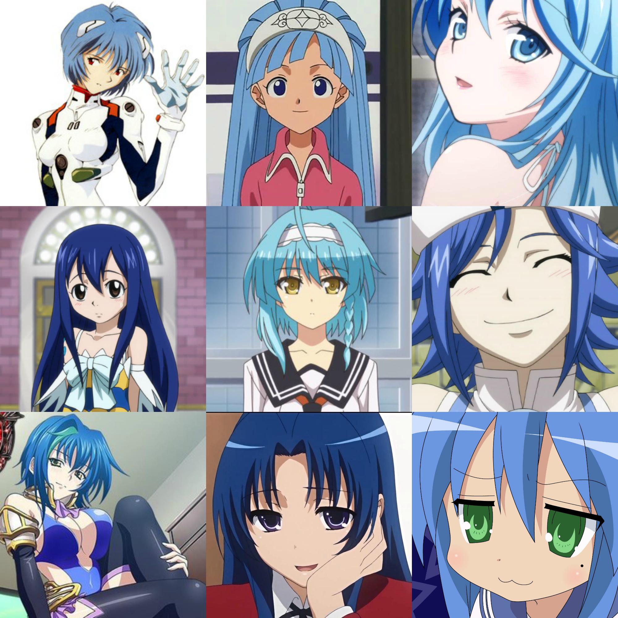 синие ж