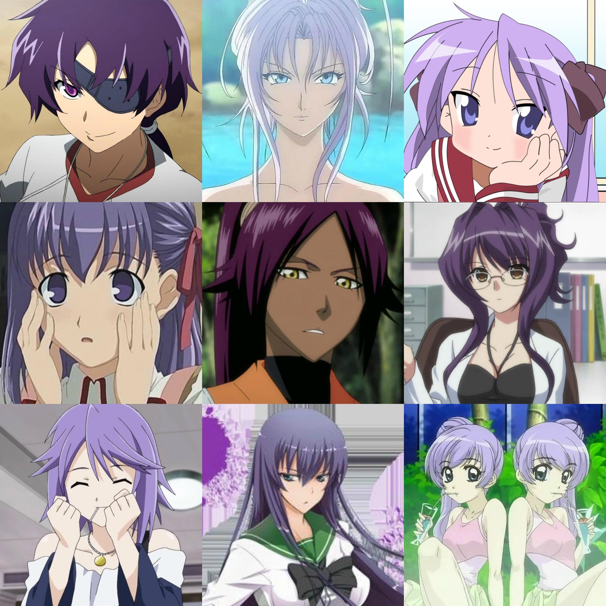 фиолетовые ж