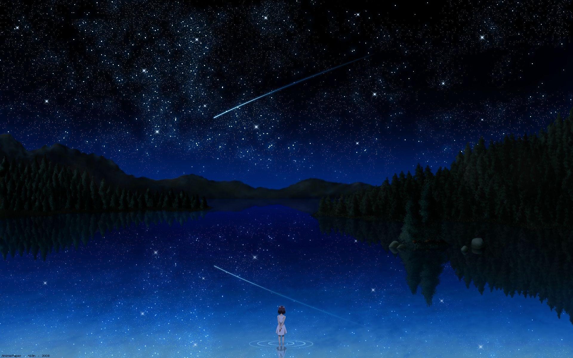 021244 (Darker than black, небо, звёзды.)